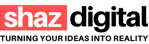 shaz digital logo